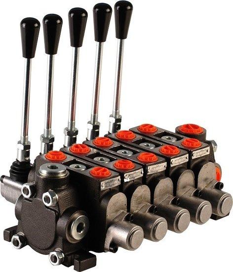 """Afbeelding van Hydropack 5PC70 stuurventiel 1/2"""" BSP, 80l/min"""