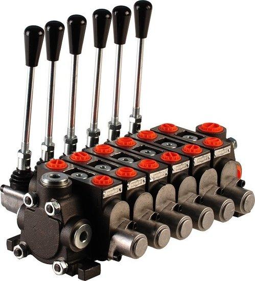 """Afbeelding van Hydropack 6PC70 stuurventiel 1/2"""" BSP, 80l/min"""