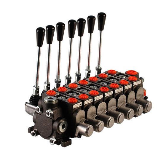 """Afbeelding van Hydropack 7PC70 stuurventiel 1/2"""" BSP, 80l/min"""