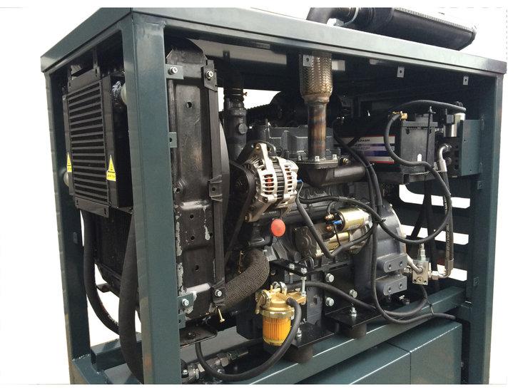 Afbeelding van Hydrauliek powerpack 107kW dieselmotor