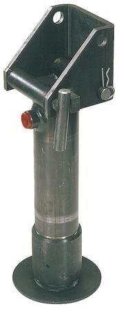 Afbeelding van PTM steunpoot hydrauliekcilinder met veerretour ø 80 mm