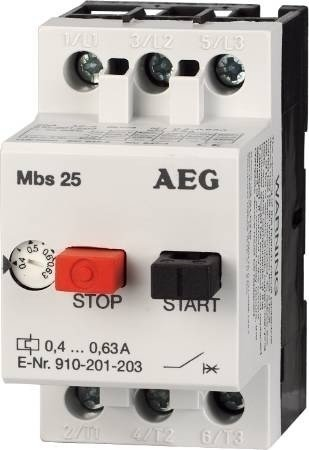 Afbeelding van AEG MBS 25 motor beveiligingschakelaar 20-25A