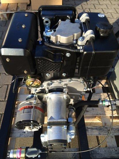 Afbeelding van Hydrauliek dieselmotor/pomp/alternator combinatie 10pk