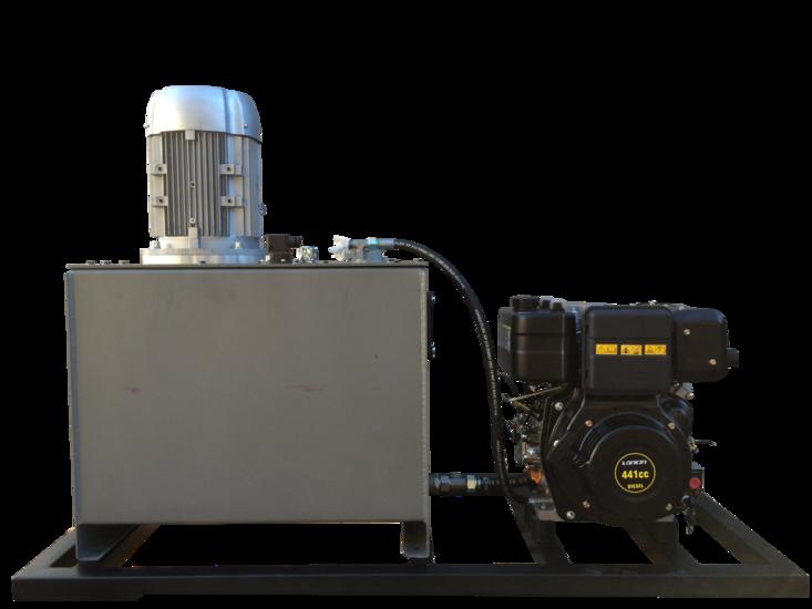 Afbeelding van Hybride hydrauliek powerpack 5,5kW