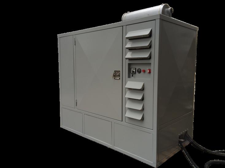 Afbeelding van Hoge druk diesel hydrauliek powerpack 170pk