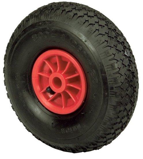 Afbeelding van Rubber wiel 20 mm naaf