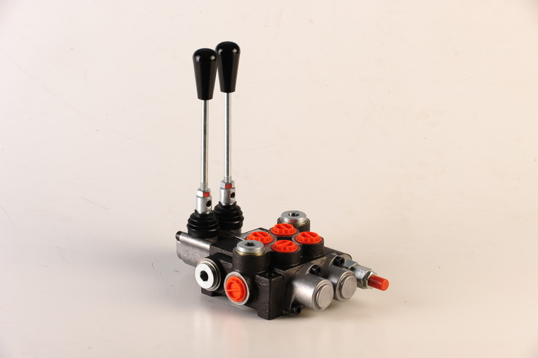 Afbeelding van Hydropack 2 sectie stuurventiel 40l/min