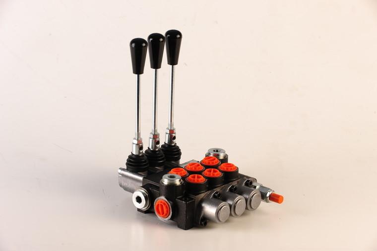 Afbeelding van Hydropack 3 sectie stuurventiel 40l/min