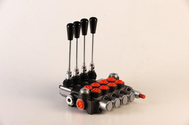 Afbeelding van Hydropack 4 sectie stuurventiel 40l/min