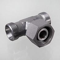 Afbeelding van T-vorm koppeling; pijp 16 mm; M24X1,5