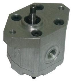 Afbeelding van Hydrauliek tandwielpomp groep 0 0,25cc rechts