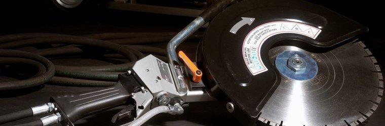 Afbeelding van Hydraulische bandenzaag / doorslijper 400mm