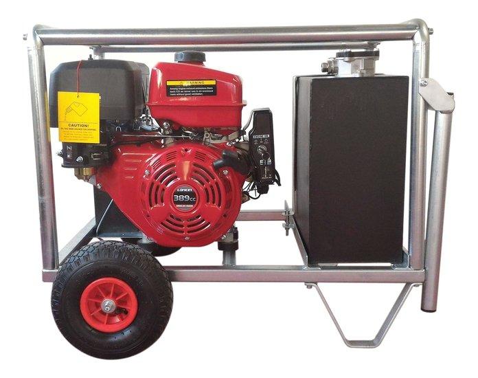 Afbeelding van Hydrauliek kruiwagenmodel powerpack met 13pk benzinemotor