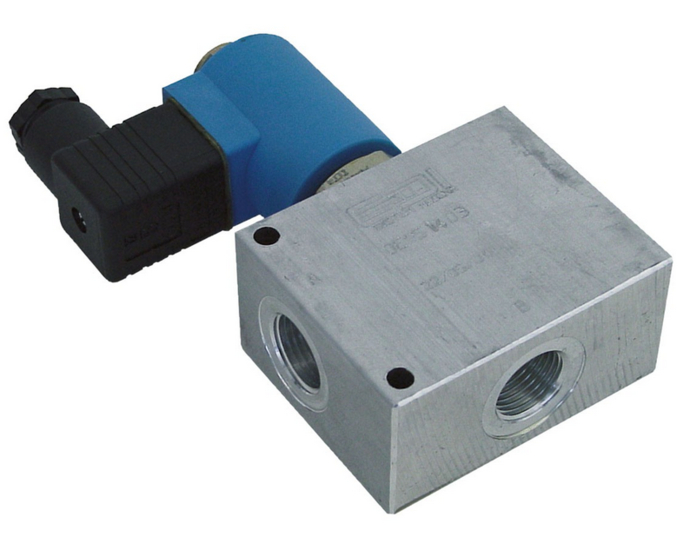 Afbeelding van 24V Elektrische 2/2 klep (double lock)