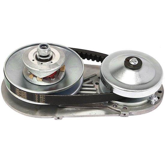 Afbeelding van Variomatic koppeling met tandwiel en 19,05 mm as voor alle Honda/PTM motoren tot 18pk