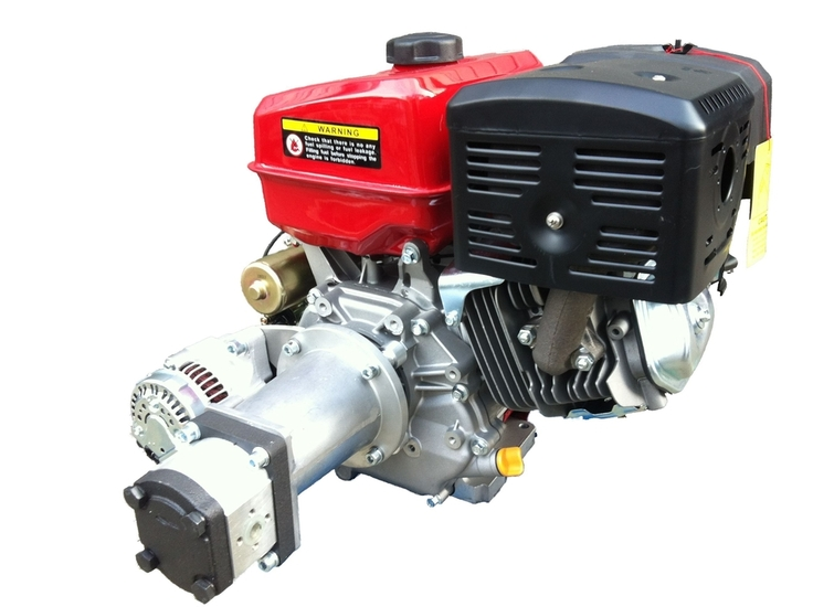 Afbeelding van Hydrauliek motor/pomp/alternator combinatie PTM390