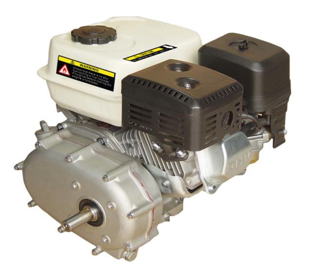 Afbeelding van PTM200PRO 6,5pk benzinemotor e-start met automatische koppeling 20mm as