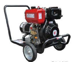Afbeelding van Genermore professional 4KVA diesel aggregaat