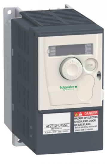 Afbeelding van Schneider Electric Altivar ATV312 frequentieregelaars, 3 fase tot 5,5kW