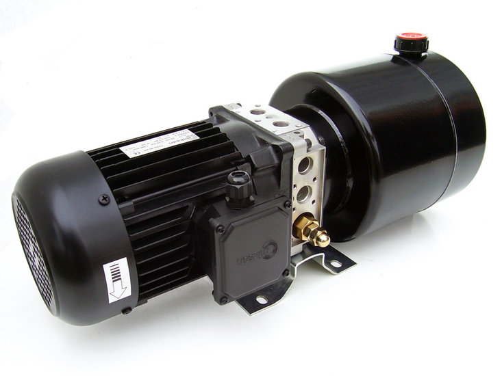 Afbeelding van 230V/2,2kW hydrauliek aggregaat mini-powerpack