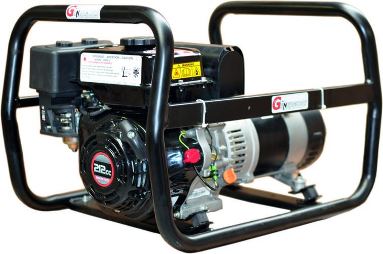 Afbeelding van Genermore professional 3,65KVA benzine aggregaat