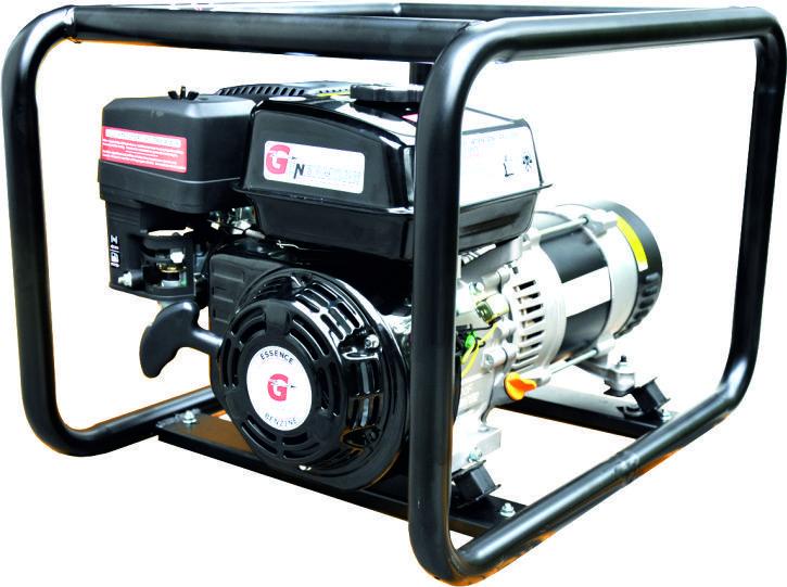 Afbeelding van Genermore professional 5KVA benzine aggregaat