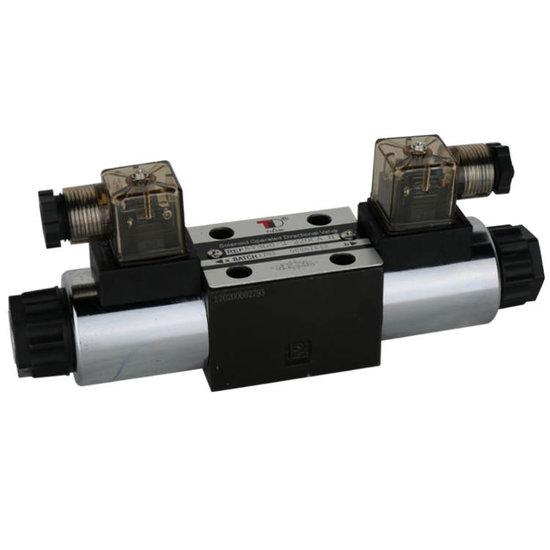 Afbeelding van NG6 230V Cetop Elektrisch 4/3 stuurventiel, PT Verbonden AB Gesloten
