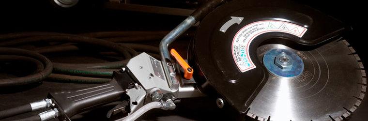 Afbeelding van Hydraulische doorslijper 400mm