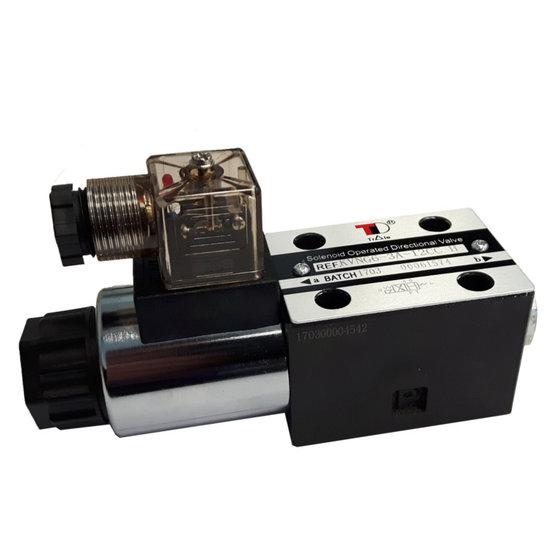 Afbeelding van NG6 24V Cetop Elektrisch 4/2 stuurventiel, H-middenstand
