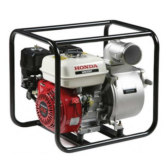 Afbeelding van Honda WB30XT Benzine waterpomp 2,8 bar 66000 l/uur