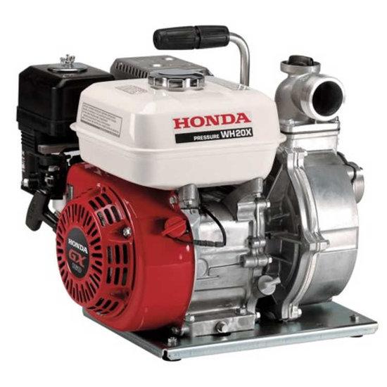 Afbeelding van Honda WH 20 X Benzine waterpomp 5 bar 30000 l/uur (zonder buizenframe)
