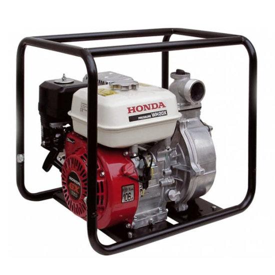 Afbeelding van Honda WH 20 X Benzine waterpomp 5 bar 30000 l/uur
