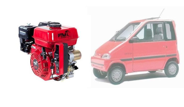 Afbeelding van PTM200pro: 6.5 pk Canta brommobielmotor