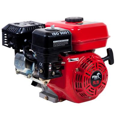 Afbeelding van PTM160PRO: krachtige 5,5pk OHV benzinemotor (professional series) 19,05 mm as.