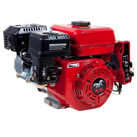 Afbeelding van PTM200PRO: krachtige 6,5pk OHV benzinemotor (professional series) 20 mm as met e-start