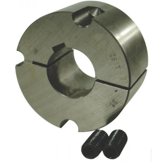 Afbeelding van Klembus 1610 1 inch boring 6,35 mm spie
