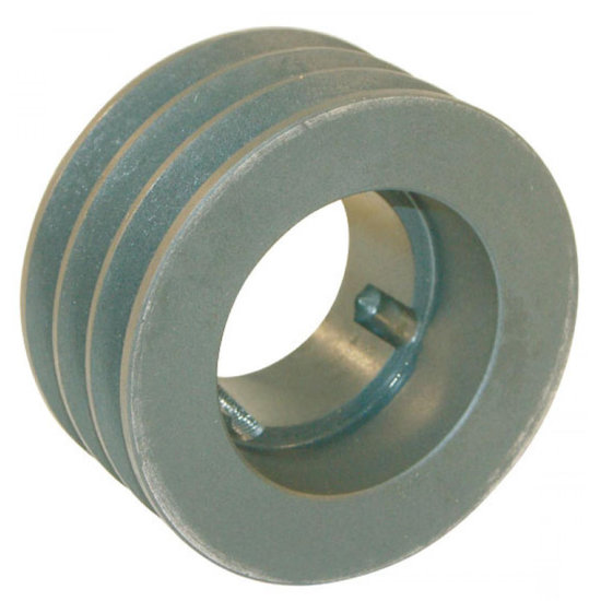 Afbeelding van 106 mm v-snaarschijf 3 groeven SPA snaar