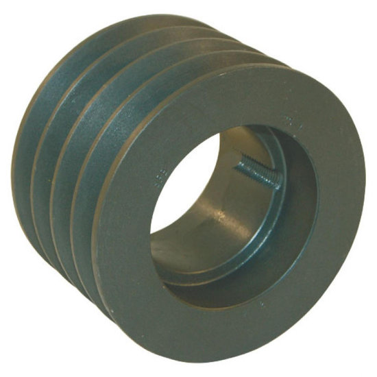 Afbeelding van 160 mm v-snaarschijf 4 groeven SPA snaar