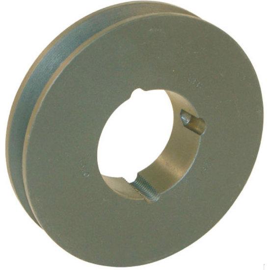 Afbeelding van 100 mm v-snaarschijf 1 groef SPB snaar