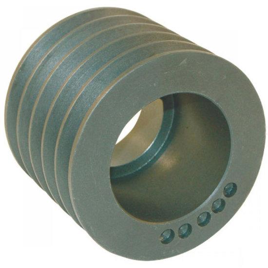 Afbeelding van 125 mm v-snaarschijf 5 groeven SPB snaar