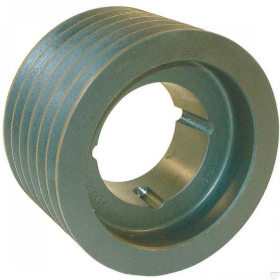 Afbeelding van 200 mm v-snaarschijf 6 groeven SPB snaar