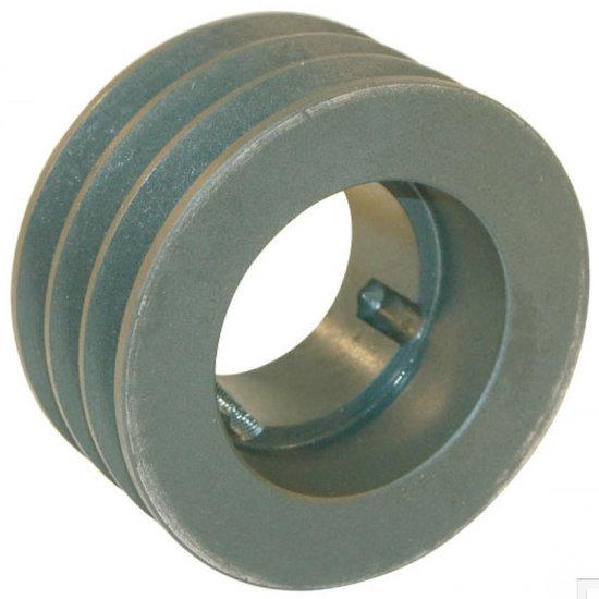 Afbeelding van 250 mm v-snaarschijf 3 groeven SPC snaar