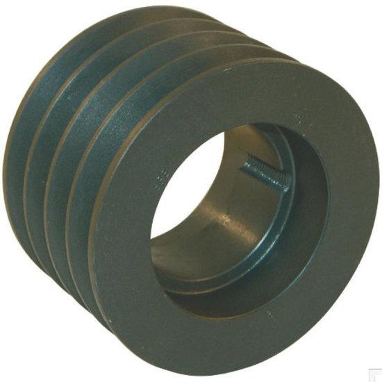 Afbeelding van 250 mm v-snaarschijf 4 groeven SPC snaar