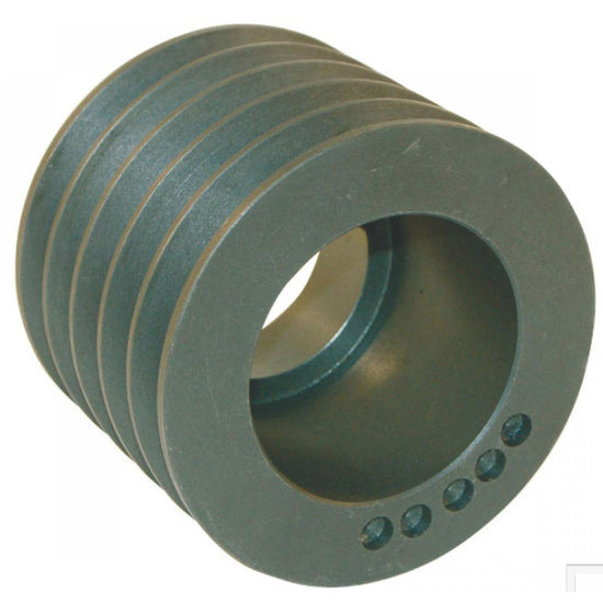 Afbeelding van 200 mm v-snaarschijf 5 groeven SPC snaar