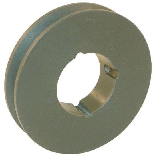 Afbeelding van 125 mm v-snaarschijf 1 groef SPZ snaar