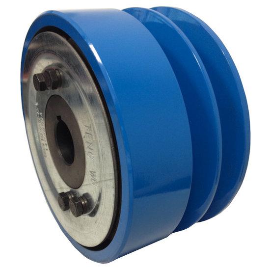 Afbeelding van Trilplaatkoppeling 25 mm as 2 groeven type SPB