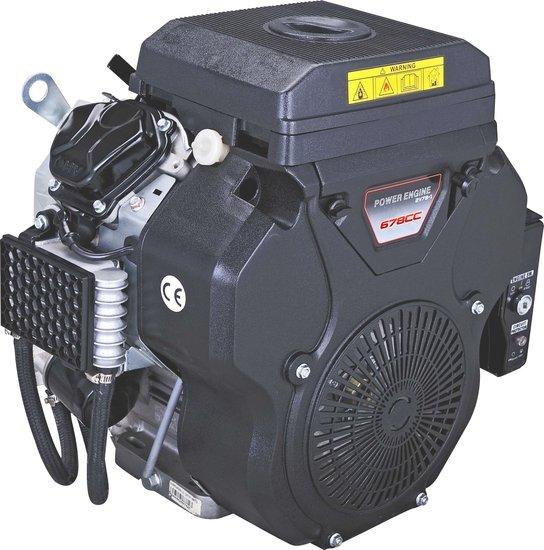 Afbeelding van PTM680PRO: krachtige 22 pk V-twin benzinemotor (professional series) 25,4 mm as.