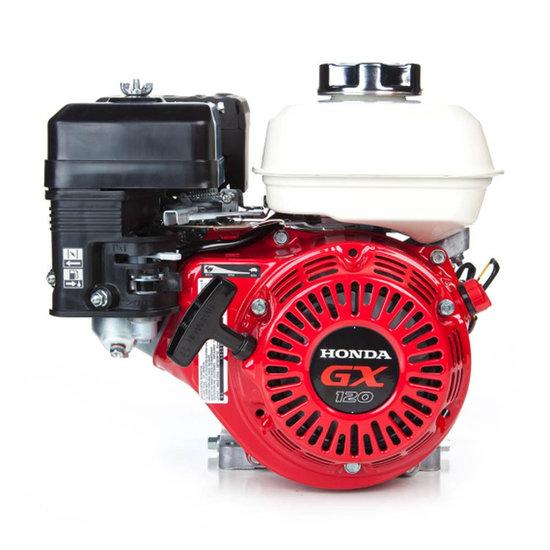 Afbeelding van Honda GX120 UT2 QX4, 19,05 mm as met olie-beveiliging