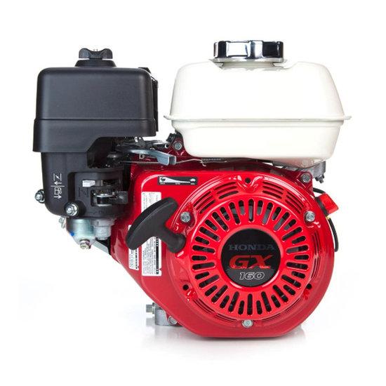 Afbeelding van GX160UT2 LX 4, 20 mm as met olie-beveiliging en reductie zonder koppeling