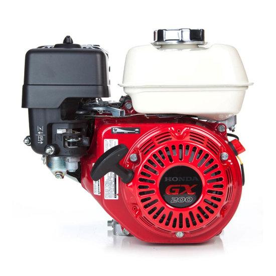 Afbeelding van Honda GX200UT2 LX4, 22 mm as met reductie en olie-beveiliging, geschikt voor kartsport